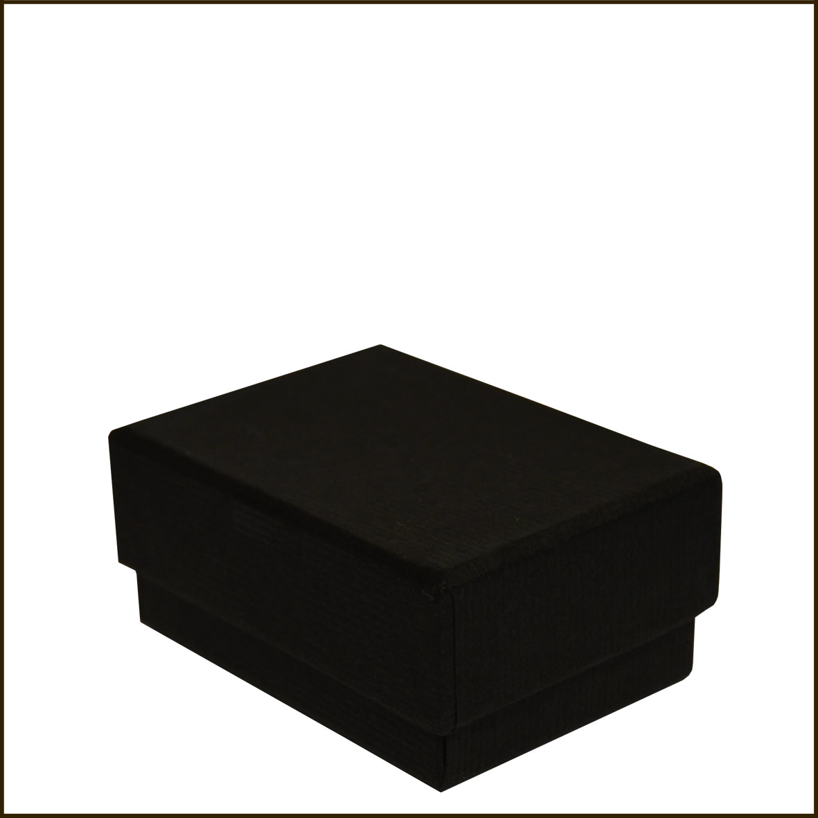 bo te crin noire carton 6 4 cm. Black Bedroom Furniture Sets. Home Design Ideas