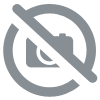 Etiquette chevron rose (lot de 12)